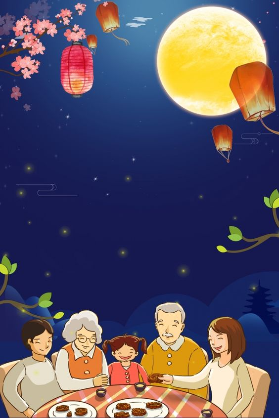 hinh nen dem ram trung thu dep nhat danh cho dien thoai mid autumn festival wallpapers 1 min