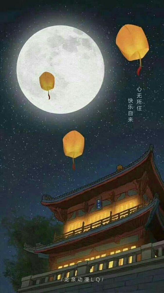 hinh nen dem ram trung thu dep nhat danh cho dien thoai mid autumn festival wallpapers 9 min