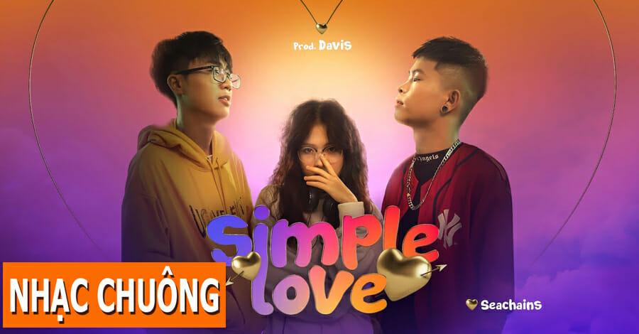 nhac chuong simple love