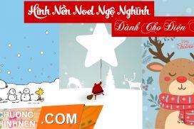 Tải Bộ Sưu Tập Hình Nền Noel Ngộ Nghĩnh Cho Điện Thoại