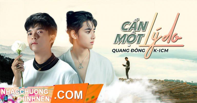 nhac chuong can mot ly do quang dong k icm
