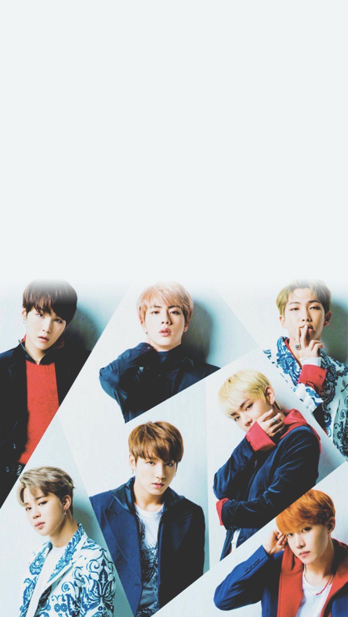 hình nền smartphone BTS Band