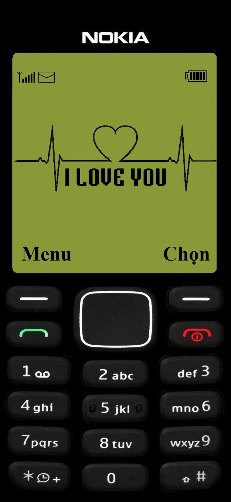 hinh nen dien thoai nokia 1280 logo i love you 2