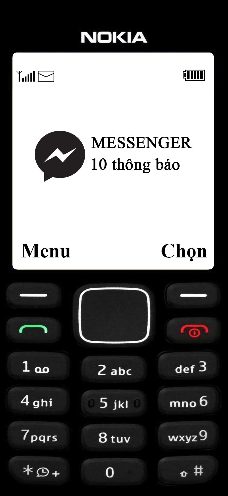 hinh nen dien thoai nokia 1280 logo messenger 3