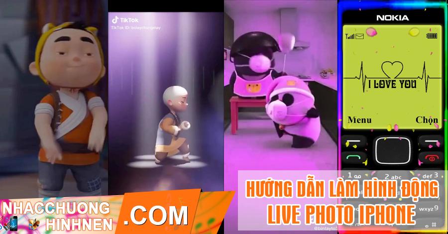 huong dan lam hinh dong live photo cho iphone tu video