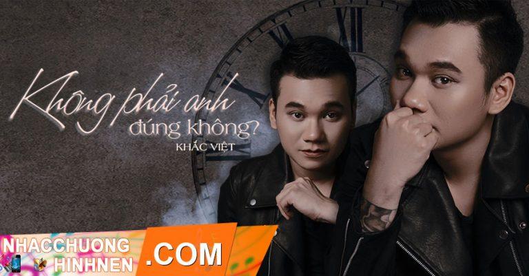 nhac chuong khong phai anh dung khong khac viet