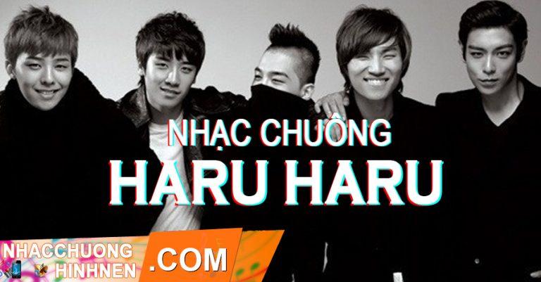nhac chuong haru haru big bang
