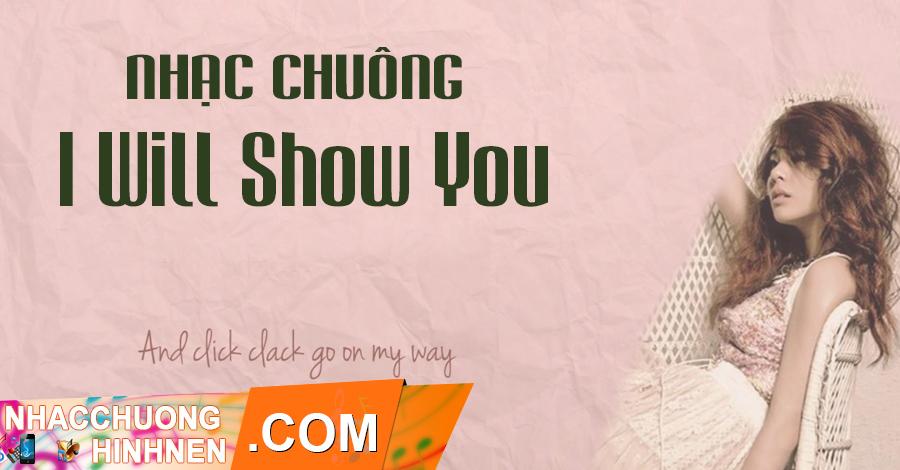 nhac chuong i will show you ailee