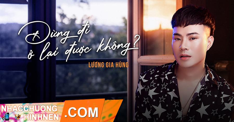nhac chuong dung di o lai duoc khong luong gia hung