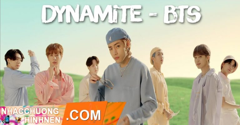 nhac chuong dynamite bts