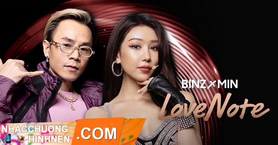 nhac chuong lovenote binz min