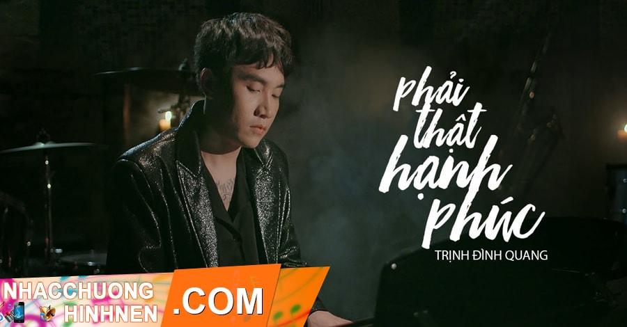 nhac chuong phai that hanh phuc trinh dinh quang cover