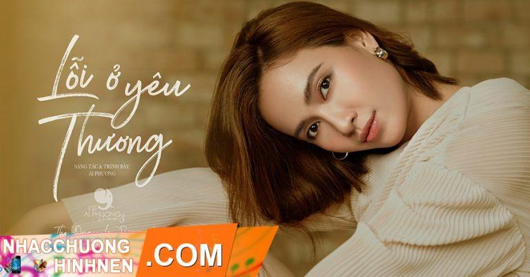 nhac chuong loi o yeu thuong ai phuong