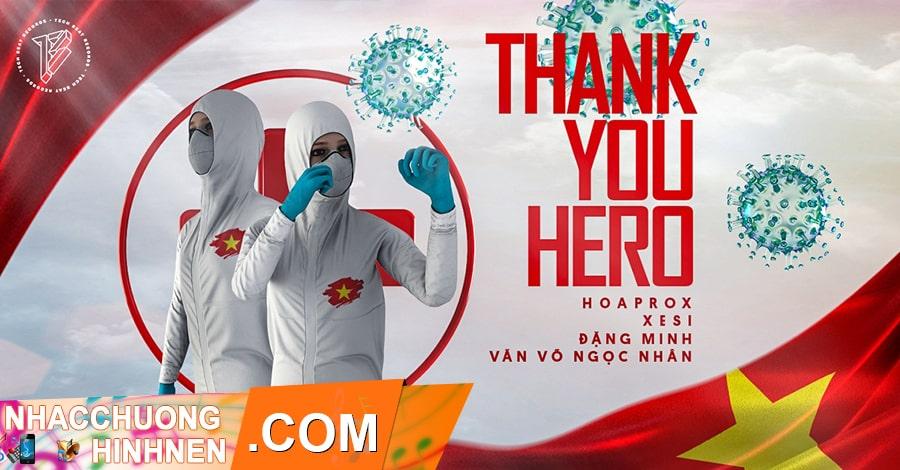 nhac chuong thank you hero nhieu ca si
