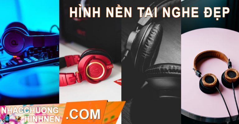 hinh nen headphone tai nghe dep cho dien thoai