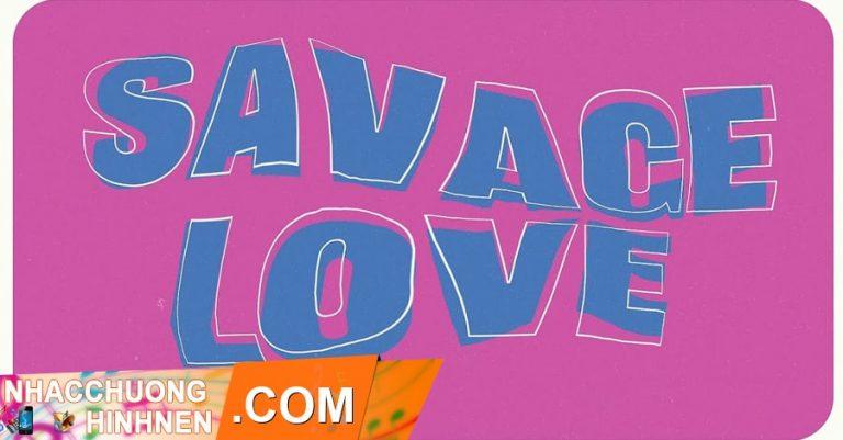 nhac chuong savage love bts remix