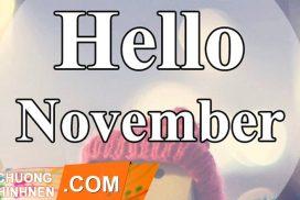 Trọn Bộ Hình Ảnh Chào Tháng 11 Đẹp Nhất, Hello November 2020